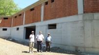 SOĞUK HAVA DEPOSU - Burhaniye'de Edremit Körfezinin İlk Organik Zeytinyağı Fabrikası Sezona Yetişecek