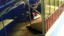 Camiden İmamın Motosikletinin Çalınma Anı Güvenlik Kamerasında