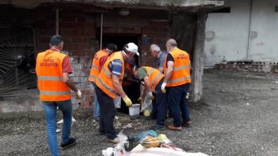 Çevre Sağlığını Tehdit Eden Çöp Ev Temizlendi