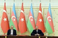 DAĞLIK KARABAĞ - Cumhurbaşkanı Erdoğan, Azerbaycan Cumhurbaşkanı Aliyev İle Bir Araya Geldi