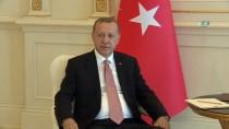 ALIYEV - Cumhurbaşkanı Erdoğan, Azerbaycan Cumhurbaşkanı Aliyev İle Görüştü
