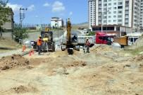 DİSKİ Silvan'da Kısmi Kanalizasyon Şebekesi Döşüyor