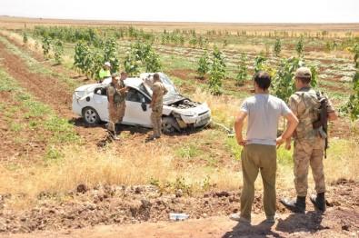 Diyarbakır'da Otomobil Takla Attı Açıklaması 5 Yaralı