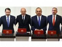 Dört bakan milletvekilliğinden istifa etti!
