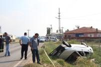 ESKIŞEHIR OSMANGAZI ÜNIVERSITESI - Eskişehir'de Trafik Kazası; 2 Ölü 2 Ağır Yaralı
