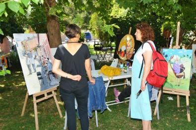 Gülmece Parkı Sanat Atölyesine Dönüştü