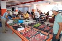 EDREMIT BELEDIYESI - Güre Pazarı Yeni Yerinde
