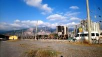 AFRİN - Hatay'da Askeri Araçlarda Nöbet Değişimi