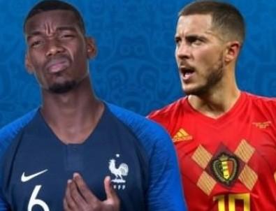 Dünya kupasında ilk finalist Fransa!