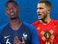 EDEN HAZARD - Dünya kupasında ilk finalist Fransa!