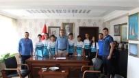 Kaymakam Hasan Çiçek, Spor Lisesini Kazanan 9 Öğrenciyi Ödüllendirdi