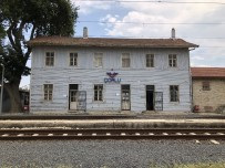 Kazanın Ardından Çorlu Tren İstasyonu Sessizliğe Büründü