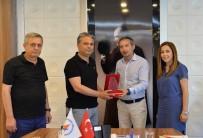 BİLİM FUARI - Levent Aydın Anadolu Lisesi'nden Başkan Uysal'a Ziyaret
