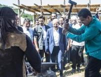NİCOLAS MADURO - Maduro 'Diriliş Ertuğrul' setini ziyaret etti