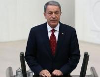 Milli Savunma Bakanı Akar'dan ilk açıklama