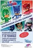 TIRMANMA DUVARI - Pijamaskeliler'in Maceralı Dünyası Forum Kayseri'de