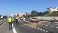 OKMEYDANI EĞİTİM VE ARAŞTIRMA HASTANESİ - TEM Otoyolunda Zincirleme Trafik Kazası