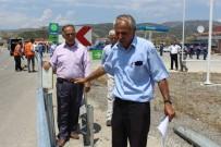 KARAYOLLARI - Tosya'da Köylülerden Yolun Bariyerle  Kapatılmasına Tepki