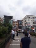 Trabzon'da Bir Binanın Çatı Katında Çıkan Yangın Paniğe Neden Oldu