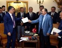 HİDROELEKTRİK - Veysel Eroğlu Görevi Tarım Ve Orman Bakanı Bekir Pakdemirli'ye Devretti