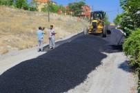 YıLDıZTEPE - Yıldıztepe Mahallesinde Sıcak Asfalt Çalışması Devam Ediyor