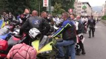 CENAZE NAMAZI - Yüzlerce Motosikletli Srebrenitsa Yolunda