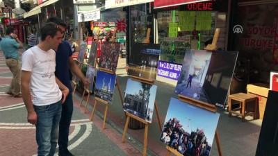 Bartın'da '15 Temmuz Şehitleri Resim Sergisi' Açıldı
