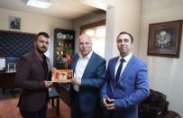 ERZURUMSPOR - Başkan Sekmen'e Erzurumspor Teşekkürü