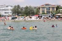 BOĞULMA VAKASI - Büyükçekmece Sahilinde Gerçeği Aratmayan 'Boğulma' Tatbikatı