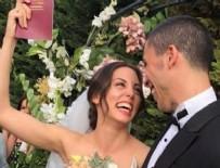 ÖYKÜ KARAYEL - Can Bonomo ve Öykü Karayel evlendi