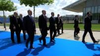 BULGARİSTAN CUMHURBAŞKANI - Cumhurbaşkanı Erdoğan NATO Karargahında
