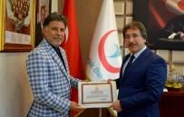 KORNEA NAKLİ - En Çok Kornea Nakli Yapan Prof. Dr. Kuddusi Erkılıç'a Sağlık Bakanlığı'ndan Teşekkür Belgesi