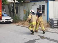 DAVUTPAŞA - Fabrikada Yangın Paniği