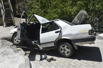 Gümüşhane'de Trafik Kazası Açıklaması 1 Ölü, 6 Yaralı