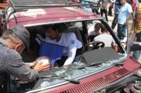 ÖĞRETMENEVI - Konya'da İki Otomobil Çarpıştı Açıklaması 4 Yaralı