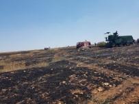 KARACADAĞ - Kulu İtfaiyesi Bir Günde 950 Dekar Anız Yangınına Müdahale Etti