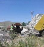 ÖZALP BELEDİYESİ - Özalp Belediyesi, Günlük 12 Ton Çöp Topluyor