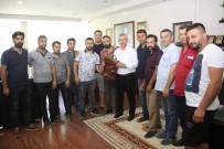 PAZARCI ESNAFI - Pazarcı Esnafından Başkan Yaralı'ya Teşekkür Ziyareti