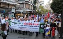 GIYABİ CENAZE NAMAZI - Samsunlular Srebrenitsa Katliamının Kurbanlarını Andı