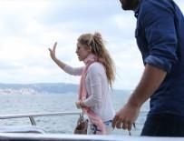 SHAKİRA - Shakira konseri öncesi Boğaz gezisi yaptı
