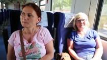 YOLCU TRENİ - Uzunköprü-Halkalı Tren Seferleri Yeniden Başladı
