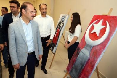 Yozgat'ta 15 Temmuz Konulu Sergi Açıldı