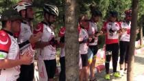 SELÇUK ÜNIVERSITESI - 15 Temmuz Şehitleri İçin Bisikletleriyle Yola Çıktılar