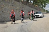 HÜSEYIN YıLDıZ - 15 Temmuz Şehitleri İçin Pedal Çevirmeyi Sürdürüyorlar