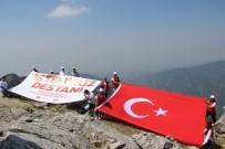 15 TEMMUZ DARBE GİRİŞİMİ - 15 Temmuz Şehitlerini 1600 Metrede Andılar