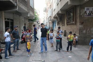 Tacizciye sokak ortasında meydan dayağı