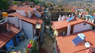 Afyonkarahisar'ın 'Rengarenk' Tarihi Evleri