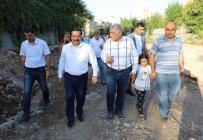 KAMULAŞTIRMA - Başkan Atilla, Çalışmaları Denetledi