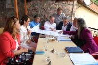 MUHITTIN BÖCEK - Başkan Böcek Saklıkent'te Proje Hazırlığı Yaptı