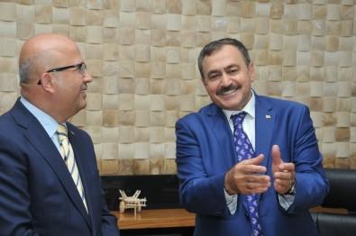 Başkan Çoban, Bakan Eroğlu'nun Görevinin Sone Ermesini Değerlendirdi Açıklaması